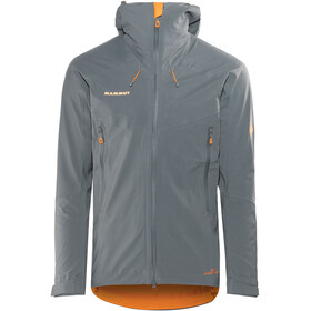Mammut Ultimate Eisfeld SO Jas Heren grijs
